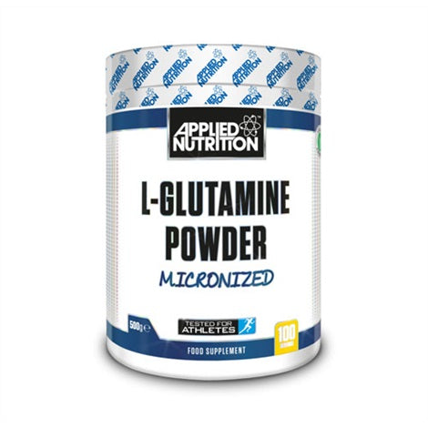 Glutamine - Applied Nutrition | 500 gram-Amino-Applied Nutrition-[Kopen]-[Body&Fit]
