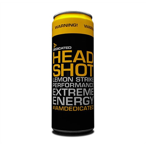 Headshot Energy Drink - Dedicated Nutrition | 4260 12 shots-Energydrink-Dedicated Nutrition-[Kopen]-[Body&Fit]
