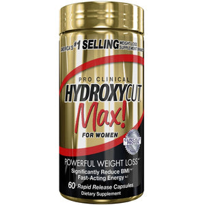 Hydroxycut Clinical Max - Muscletech | 60 capsules-Burner-Muscletech-[Kopen]-[Body&Fit]