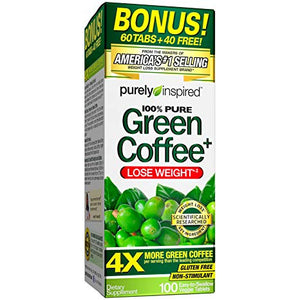Inspired Green Coffee - Muscletech | 100 tabletten-Burner-Muscletech-[Kopen]-[Body&Fit]