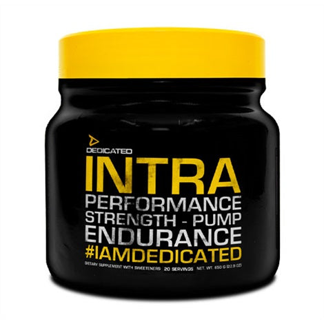 Intra - Dedicated Nutrition | 650 gram - 20 doseringen-Preworkout-Dedicated Nutrition-[Kopen]-[Body&Fit]