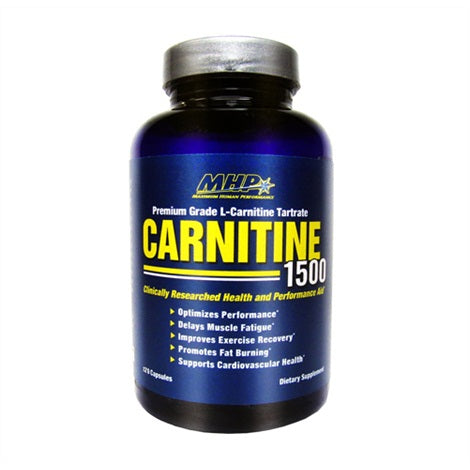 L-Carnitine - MHP | 120 capsules-Amino-MHP-[Kopen]-[Body&Fit]