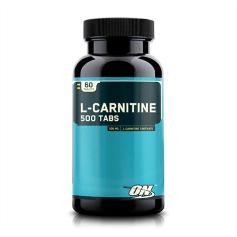 Optimum L-Carnitine 500mg - Optimum Nutrition | 60 tabs tabletten-Amino-Optimum Nutrition-[Kopen]-[Body&Fit]