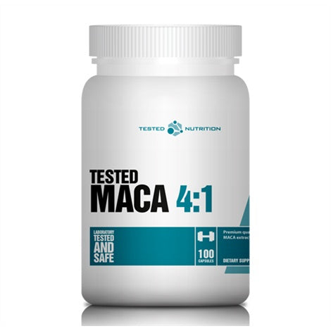Maca 4:1 - Tested Nutrition | 100 capsules-Vitamine-Tested Nutrition-[Kopen]-[Body&Fit]