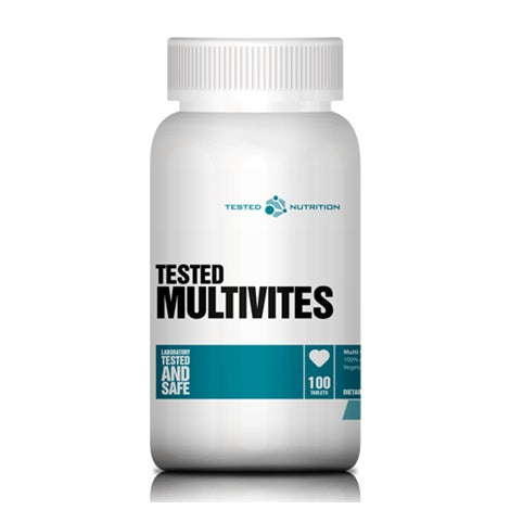 Multivitamin - Tested Nutrition | 100 tabletten-Vitamine-Tested Nutrition-[Kopen]-[Body&Fit]
