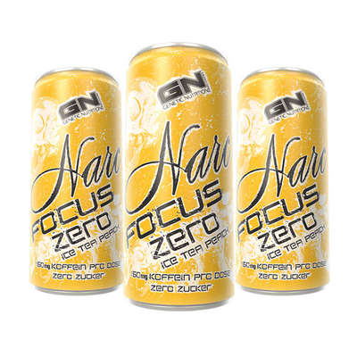 GN Narc Zero Energy Drink - GN Laboratories | 250 ml - 24 blikjes-Energydrink-GN Laboratories-[Kopen]-[Body&Fit]