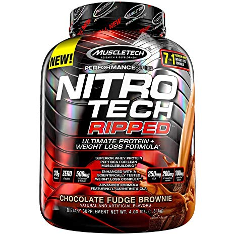 Nitrotech Performance Ripped - Muscletech | 1814 gram - 42 shakes-Whey-Muscletech-[Kopen]-[Body&Fit]