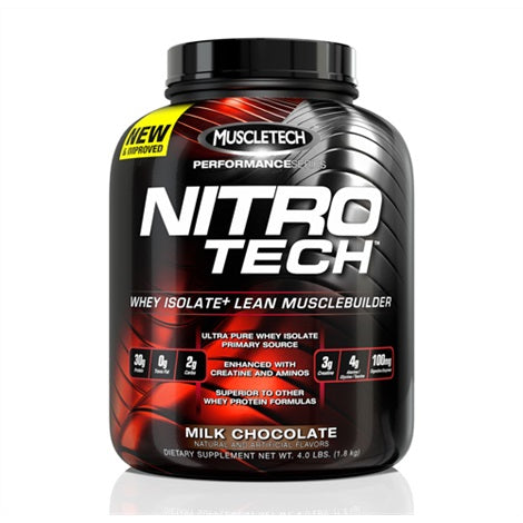 Nitrotech Performance Series - Muscletech | 1800 gram - 41 shakes-Isolate-Muscletech-[Kopen]-[Body&Fit]