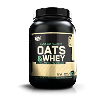 Oats & Whey - Optimum Nutrition | 1300 gram - 25 shakes-Weightgainer-Optimum Nutrition-[Kopen]-[Body&Fit]