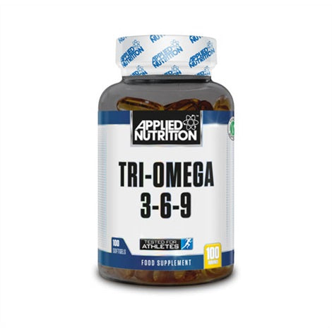 Tri-Omega 3-6-9 - Applied Nutrition | 100 gels-Vitamine-Applied Nutrition-[Kopen]-[Body&Fit]
