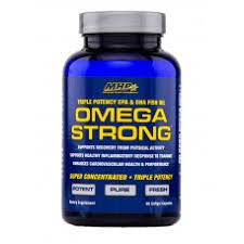 Omega Strong - MHP | 60 softgels-Vitamine-MHP-[Kopen]-[Body&Fit]