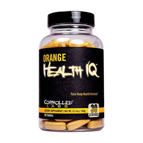 Orange Health IQ - Controlled Labs | 90 tabletten-Vitamine-Controlled Labs-[Kopen]-[Body&Fit]