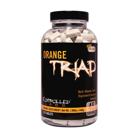 Orange Triad - Controlled Labs | 240 tabletten-Vitamine-Controlled Labs-[Kopen]-[Body&Fit]
