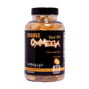 Orange OxiMega Fish Oil - Controlled Labs | 120 softgels-Vitamine-Controlled Labs-[Kopen]-[Body&Fit]