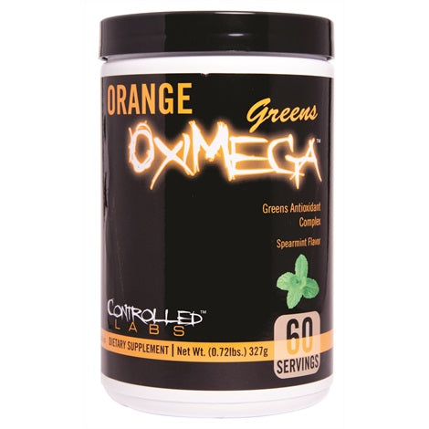 Orange Oximega Greens - Controlled Labs | 412 gram - 60 doseringen-Vitamine-Controlled Labs-[Kopen]-[Body&Fit]