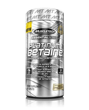 Platinum Advanced Strength Betaine - Muscletech | 168 capsules-Amino-Muscletech-[Kopen]-[Body&Fit]