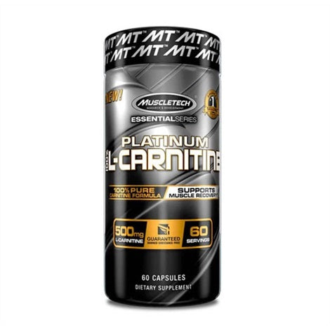 Platinum Pure L-Carnitine - Muscletech | 180 capsules-Amino-Muscletech-[Kopen]-[Body&Fit]