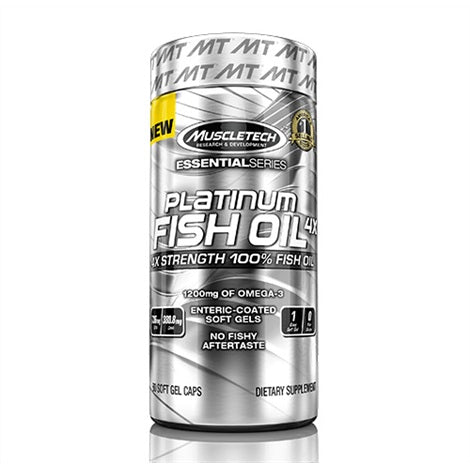 Platinum Ultra Strength Fish Oil - Muscletech | 60 capsules-Vitamine-Muscletech-[Kopen]-[Body&Fit]