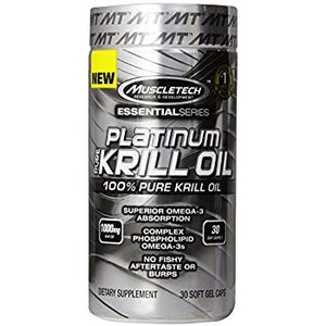 Platinum Extra Strength Krill Oil - Muscletech | 30 capsules-Vitamine-Muscletech-[Kopen]-[Body&Fit]