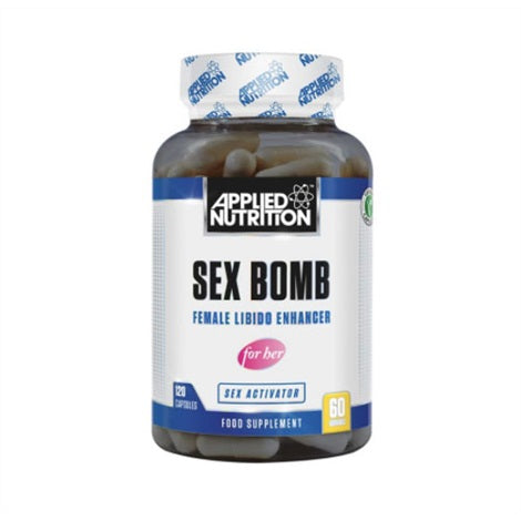Sex Bomb Male - Applied Nutrition | 120 capsules-Libido-Applied Nutrition-[Kopen]-[Body&Fit]