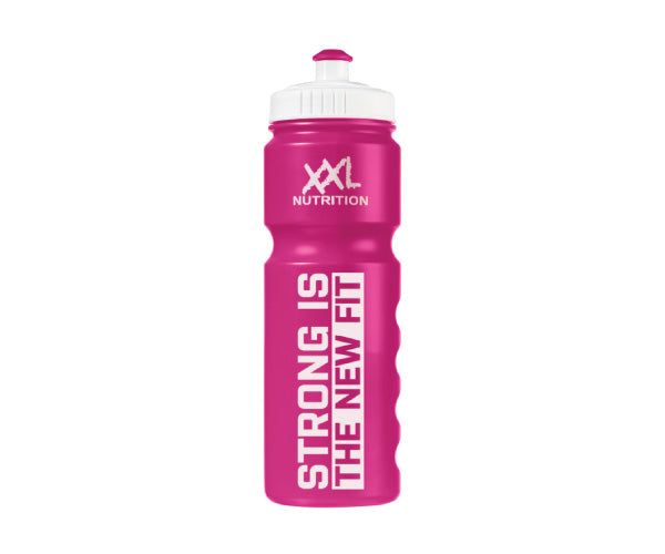 Bidon - Strong is the new Fit - XXL Nutrition | pink-Accessoires-XXL Nutrition-[Kopen]-[Body&Fit]