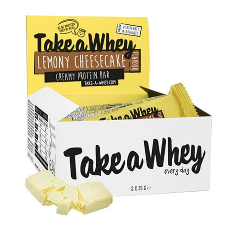 Take-a-Whey Protein Flapjacks - Take a Whey | 1200 gram - 12 repen-Eiwitreep-Take a Whey-[Kopen]-[Body&Fit]
