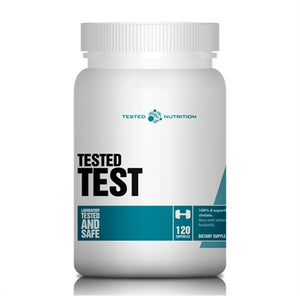 Test (D-Aspartic Acid Chelate) - Tested Nutrition | 120 capsules-Vitamine-Tested Nutrition-[Kopen]-[Body&Fit]