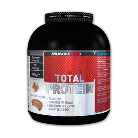 Total Protein - Muscle NH2 | 1800 gram - 60 shakes-Whey-Muscle NH2-[Kopen]-[Body&Fit]