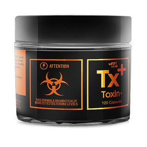 Toxin Test Booster - TF7 Labs | 120 capsules-T-booster-TF7 Labs-[Kopen]-[Body&Fit]