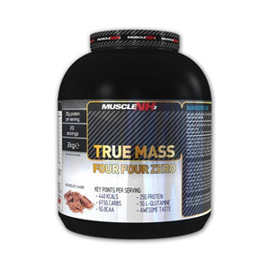 True Mass Eight Zero - Muscle NH2 | 2000 gram - 20 shakes-Weightgainer-Muscle NH2-[Kopen]-[Body&Fit]