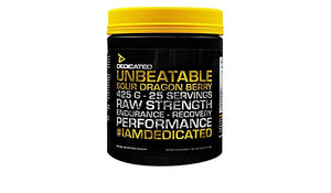 Unbeatable - Dedicated Nutrition | 450 gram - 25 doseringen-Preworkout-Dedicated Nutrition-[Kopen]-[Body&Fit]