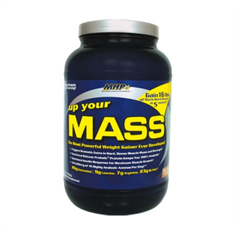 Up Your Mass - MHP | 908 gram - 17 shakes-Weightgainer-MHP-[Kopen]-[Body&Fit]