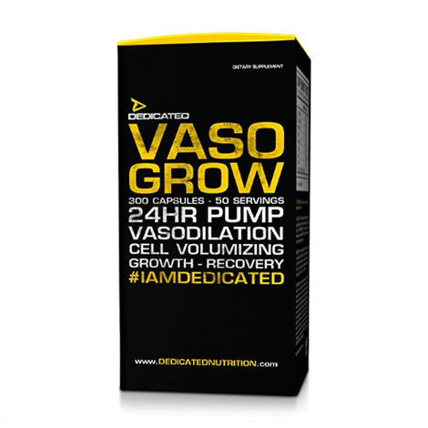 Vaso Grow V.2 - Dedicated Nutrition | 200 capsules-T-booster-Dedicated Nutrition-[Kopen]-[Body&Fit]