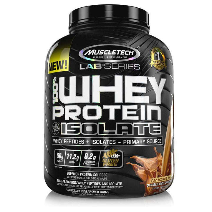 Whey Protein Plus Isolate - Muscletech | 2275 gram - 65 shakes-Isolate-Muscletech-[Kopen]-[Body&Fit]
