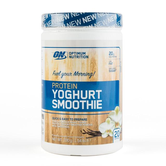Optimum Yoghurt Smoothie - Optimum Nutrition | 700 gram - 20 shakes-Whey-Optimum Nutrition-[Kopen]-[Body&Fit]