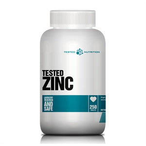 Zinc Gluconate 30mg - Tested Nutrition | 250 tabletten-Vitamine-Tested Nutrition-[Kopen]-[Body&Fit]