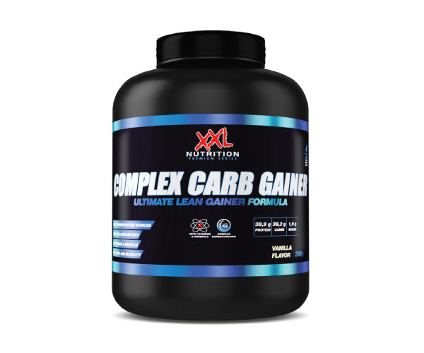 Complex Carb Gainer - XXL Nutrition | 2500 gram - 25 shakes-Weightgainer-XXL Nutrition-[Kopen]-[Body&Fit]