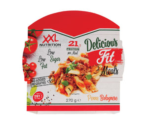 Delicious Fit Meals - XXL Nutrition | penne bolognese-Voeding-XXL Nutrition-[Kopen]-[Body&Fit]