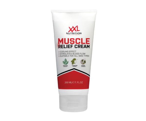 Muscle Relief Cream - XXL Nutrition | 200 ml - 1 tube-Accessoires-XXL Nutrition-[Kopen]-[Body&Fit]
