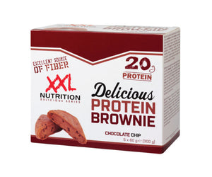 Delicious Protein Brownie - XXL Nutrition | 5 pack-Eiwitreep-XXL Nutrition-[Kopen]-[Body&Fit]