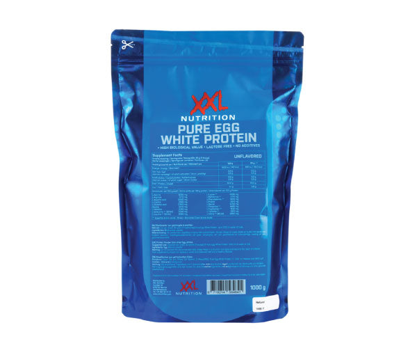 Pure Egg White Protein - XXL Nutrition | 1000 gram - 33 shakes-Voeding-XXL Nutrition-[Kopen]-[Body&Fit]