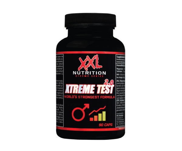 Xtreme Test 2.0 - XXL Nutrition | 90 capsules-T-booster-XXL Nutrition-[Kopen]-[Body&Fit]