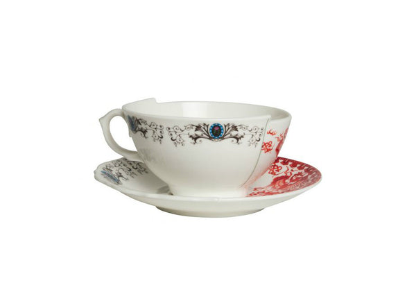 Hybrid Tea Cup with Saucer by Seletti (Set of 2)