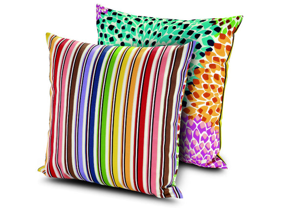 Dalia Rainbow Pillow by Missoni