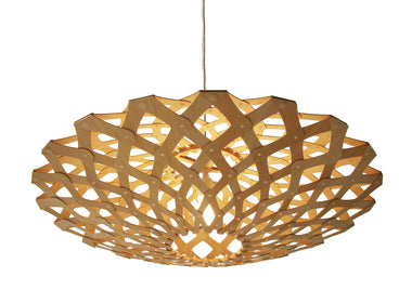 Flax Bamboo Suspension Light by David Trubridge - Urbanspace Interiors