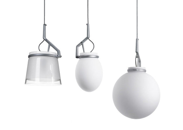 GlassGlass Suspension Lamp by Luceplan