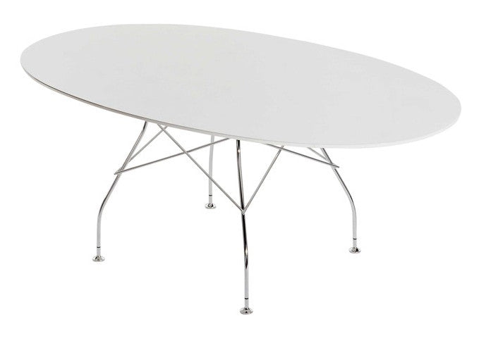 Glossy Dining Table By Kartell   Urbanspace Interiors ...