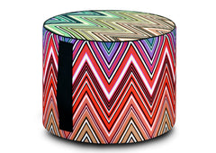 Kew Outdoor Pouf by Missoni Home