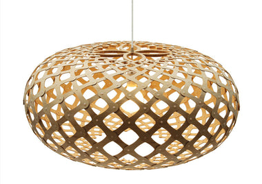 Kina Bamboo Suspension Light by David Trubridge - Urbanspace Interiors