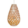 Koura Bamboo Suspension Light by David Trubridge